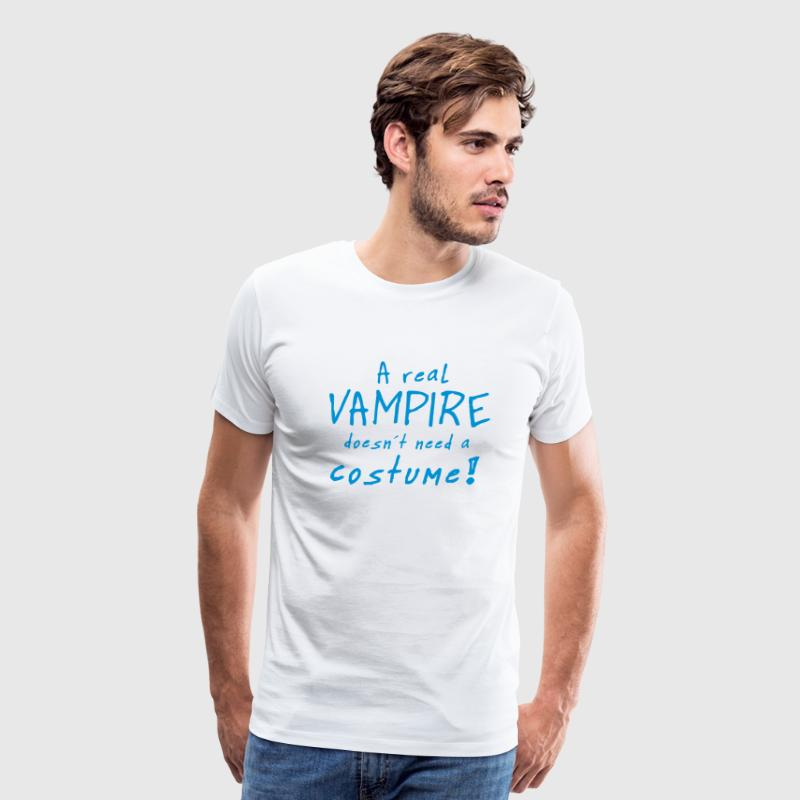 a real vampire costume T-Shirts - Men's Premium T-Shirt