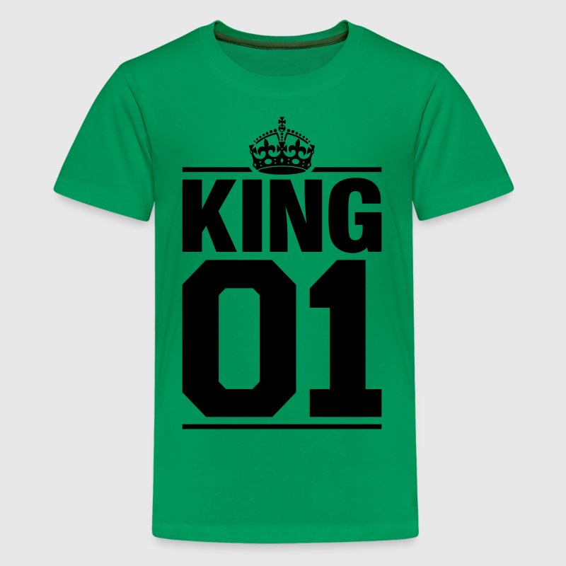 King 01 Kids' Shirts - Kids' Premium T-Shirt