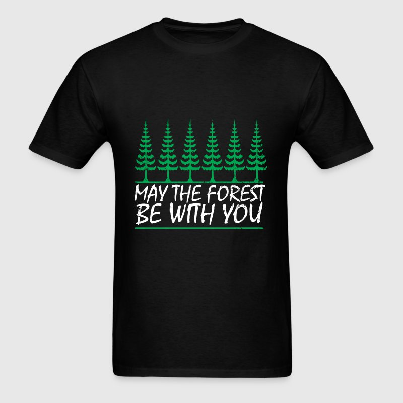 Camping - May the forest be with you - Men's T-Shirt