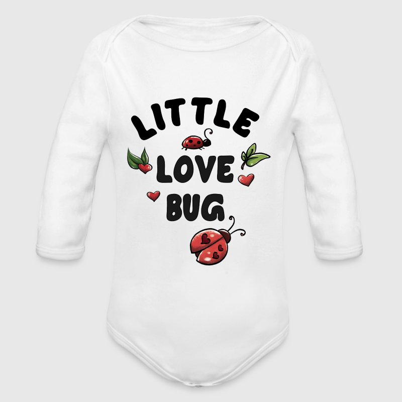 Little Love Bug Baby Bodysuits - Long Sleeve Baby Bodysuit