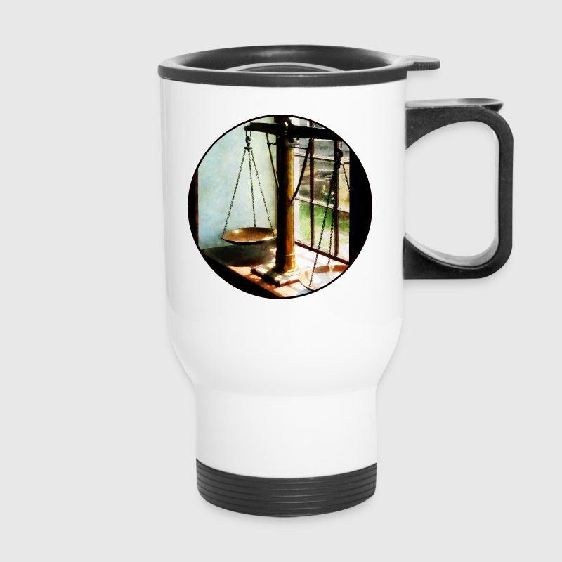 Scales of Justice Mugs & Drinkware - Travel Mug