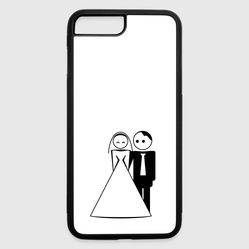 couple / wedding / mariage / bride and groom 1c Accessories - iPhone 7 Plus/8 Plus Rubber Case