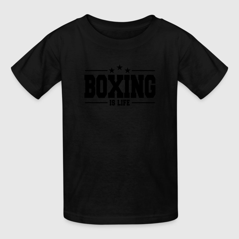 boxing is life 1 Kids' Shirts - Kids' T-Shirt