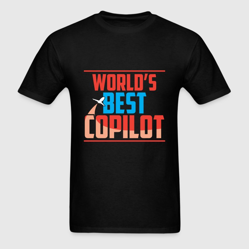 Copilot - World's best copliot - Men's T-Shirt