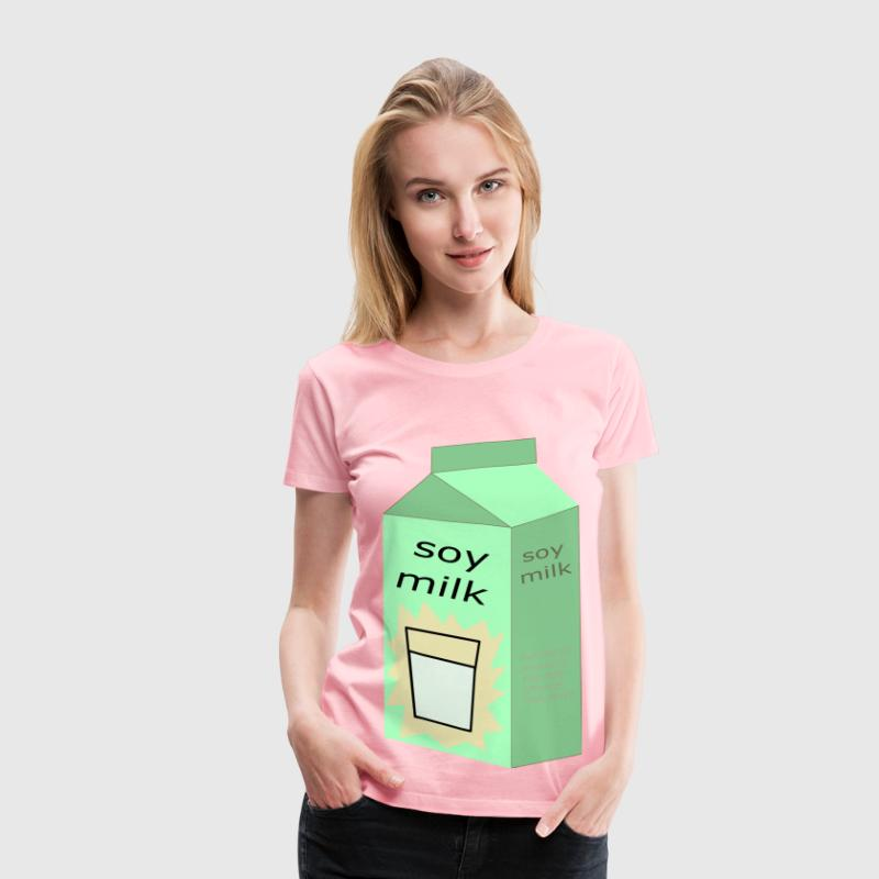 Soy Milk - Women's Premium T-Shirt