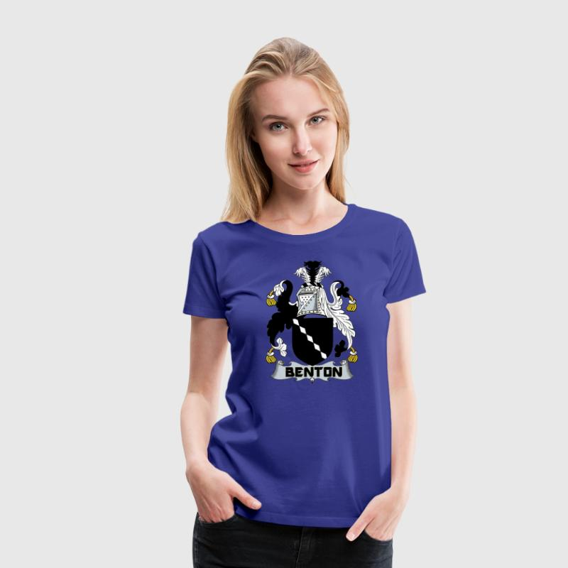 BENTON OF USA CREST T-Shirts - Women's Premium T-Shirt
