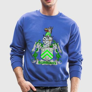 BURROWS OF ENGLAND CREST T-Shirts - Crewneck Sweatshirt