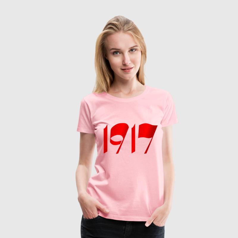 100 years october revolution 1917 - Women's Premium T-Shirt