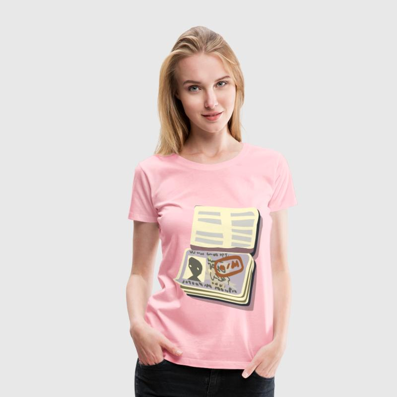Passport Open - Women's Premium T-Shirt