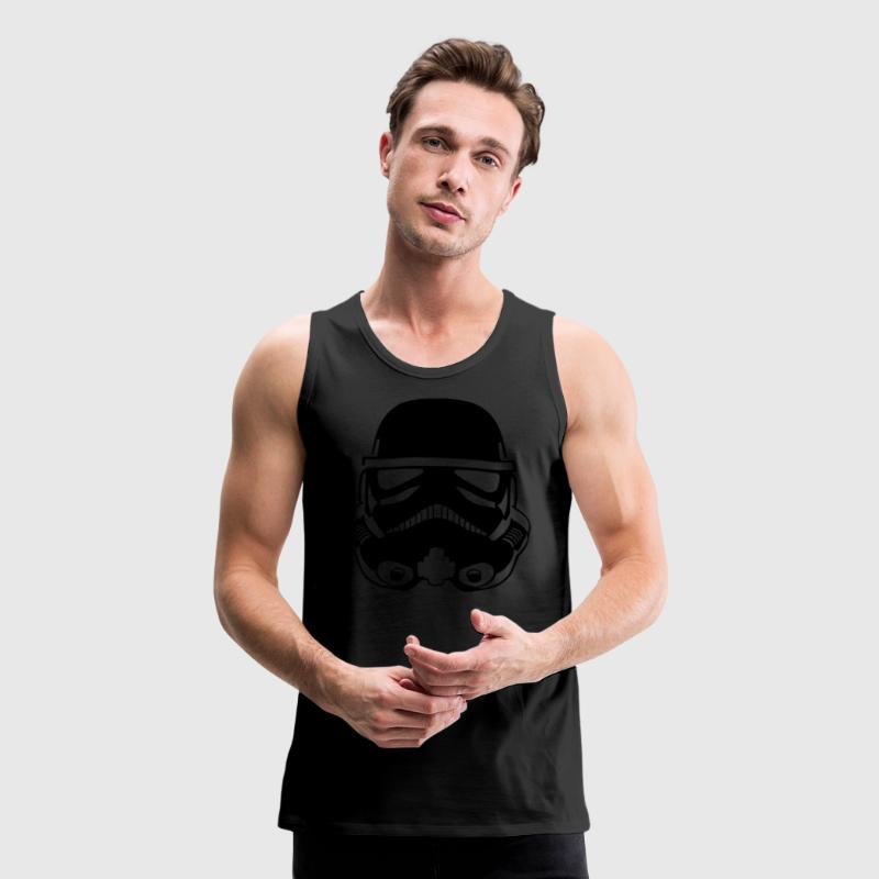 Stormtrooper Helmet TANK TOP MAN - Men's Premium Tank