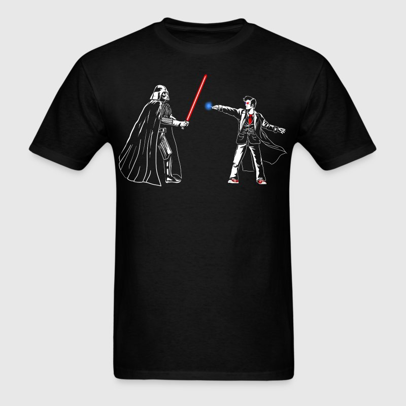 Sith Lord vs. Time Lord - Men's T-Shirt