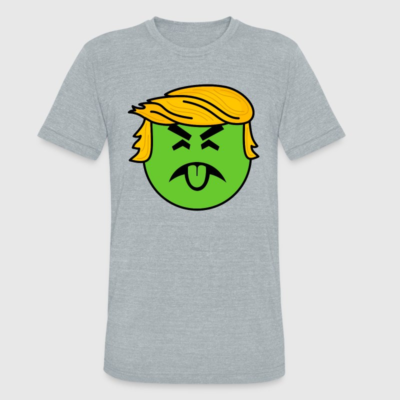 Trump Mr. Yuck - Unisex Tri-Blend T-Shirt by American Apparel