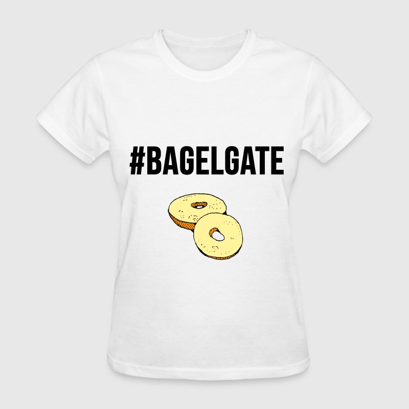 #Bagelgate Trending Graphic Fight Tee T-Shirts - Women's T-Shirt