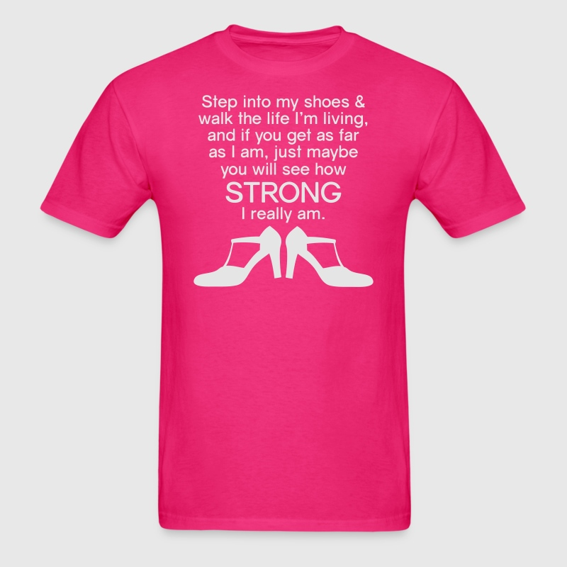 Step Into My Shoes (High Heels) - Men's T-Shirt - Men's T-Shirt