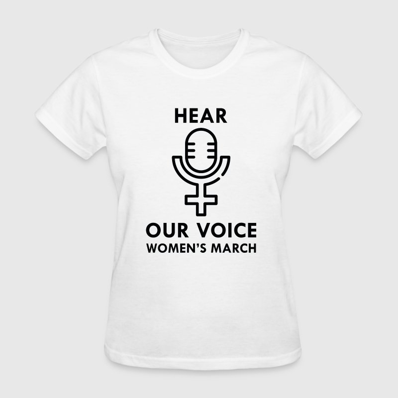 Hear Our Voice - Women's T-Shirt