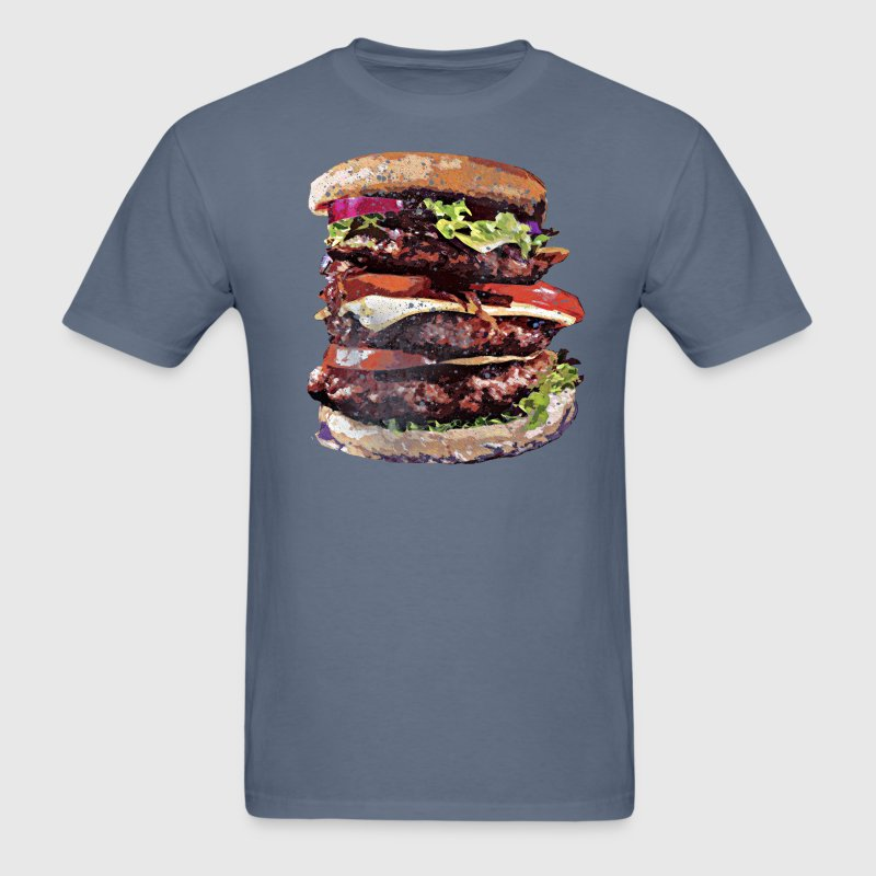 Cheeseburgers Rule~ T-Shirts - Men's T-Shirt