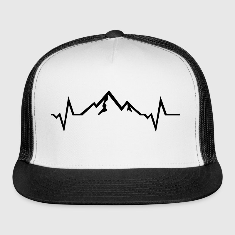 Mountain - Heartbeat Sportswear - Trucker Cap