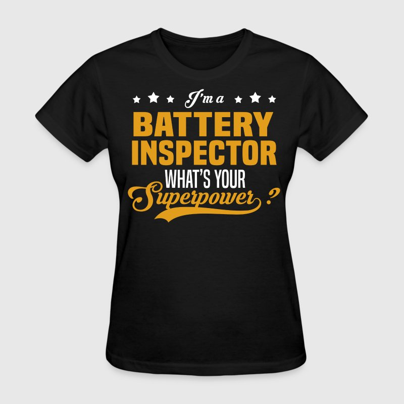 Battery Inspector - Women's T-Shirt
