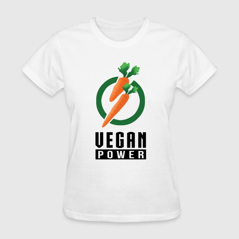 Vegan Power T-Shirts - Women's T-Shirt