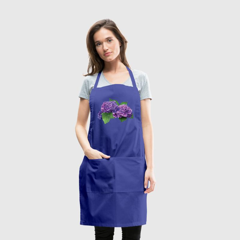 Purple Hydrangea Aprons - Adjustable Apron