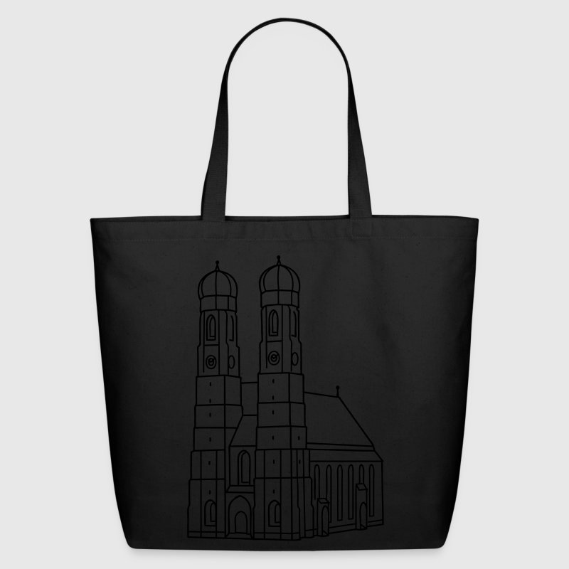 Munich Frauenkirche Bags & backpacks - Eco-Friendly Cotton Tote