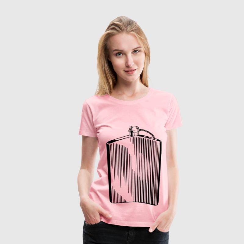Hip flask - Women's Premium T-Shirt