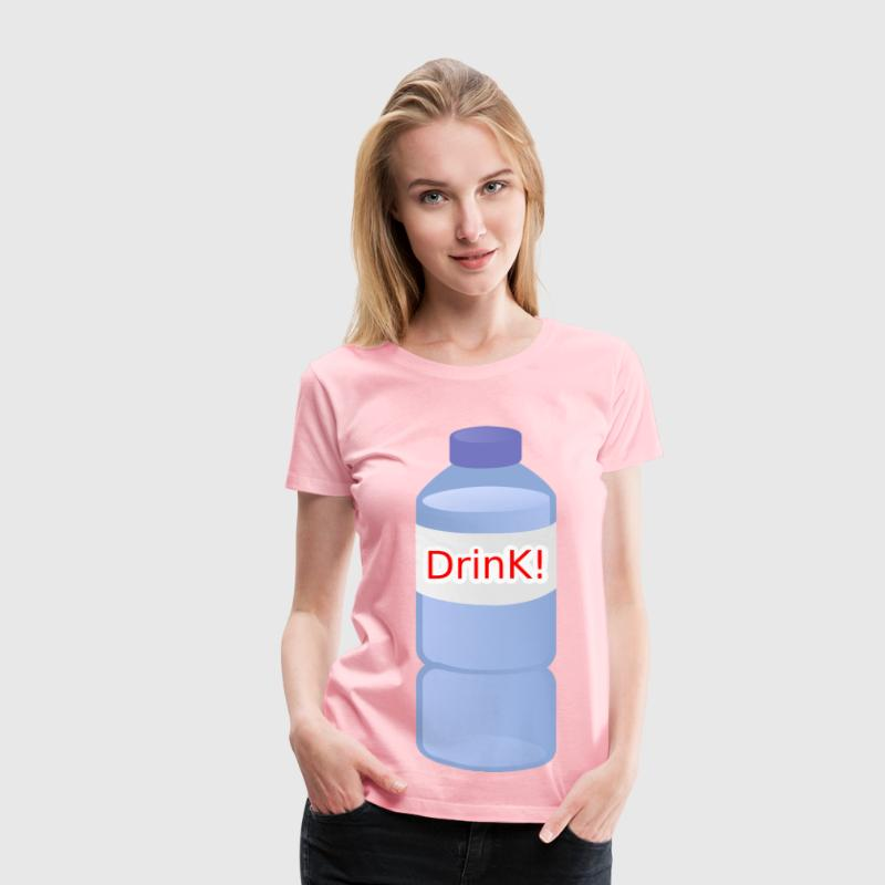 Small Water Bottle - Women's Premium T-Shirt