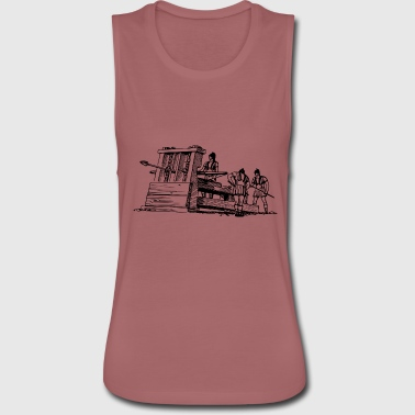 Catapult - Women's Flowy Muscle Tank by Bella