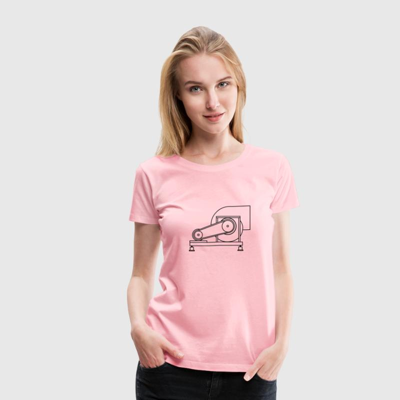 Heavy Duty Fan 2 - Women's Premium T-Shirt
