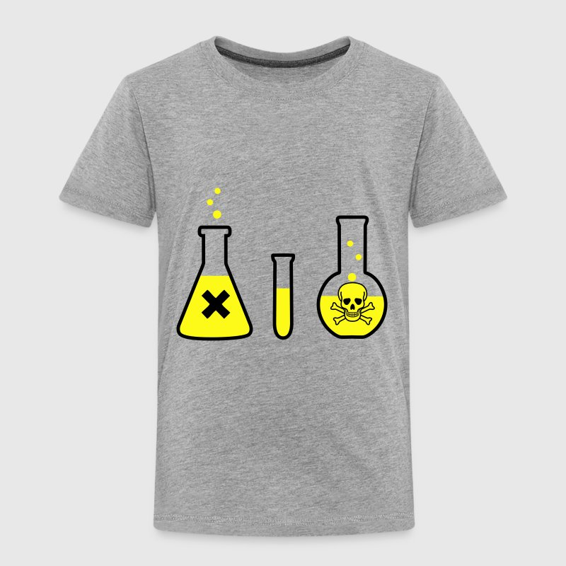 Chemistry, Science - Danger! (2 colors) Baby & Toddler Shirts - Toddler Premium T-Shirt