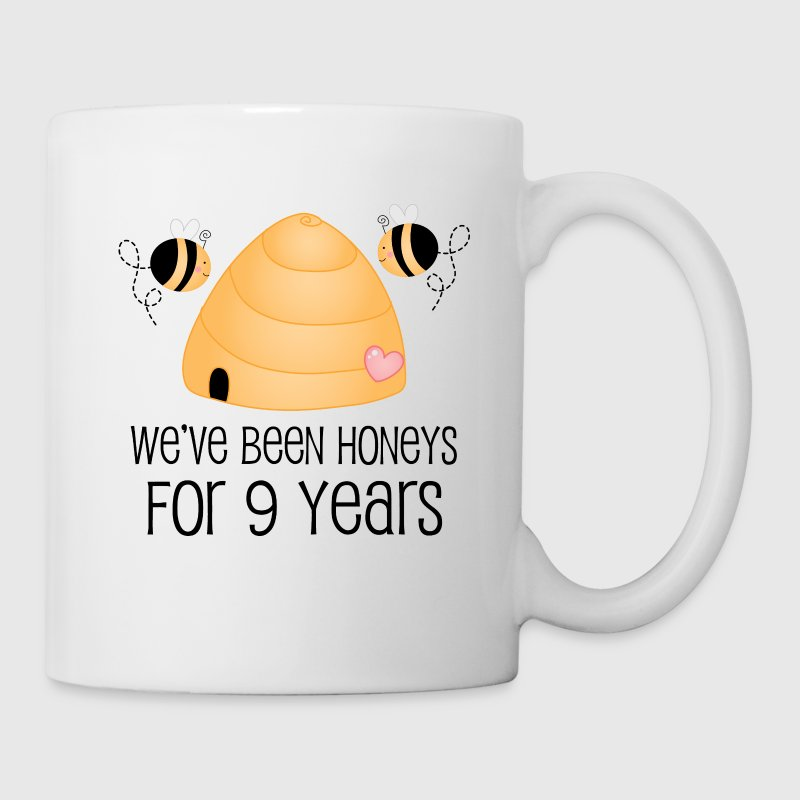 9th anniversary gift cute mug spreadshirt 9th anniversary gift cute mugs drinkware coffeetea mug negle Choice Image