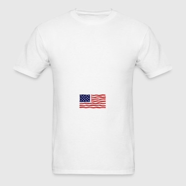 Stars And Stripes / USA / Flag Sportswear - Men's T-Shirt