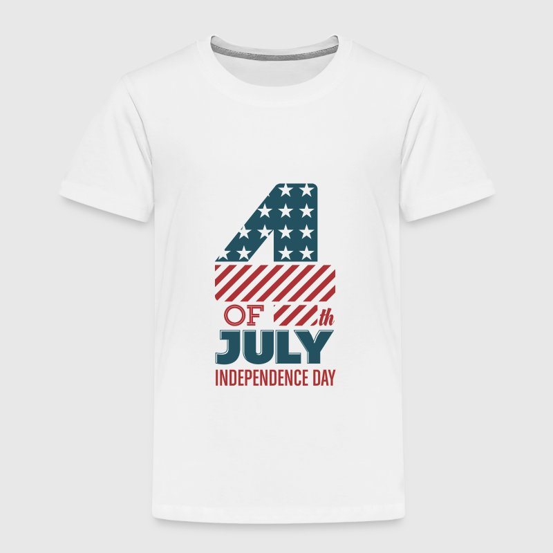 USA - July 4th - Independence Day Baby & Toddler Shirts - Toddler Premium T-Shirt