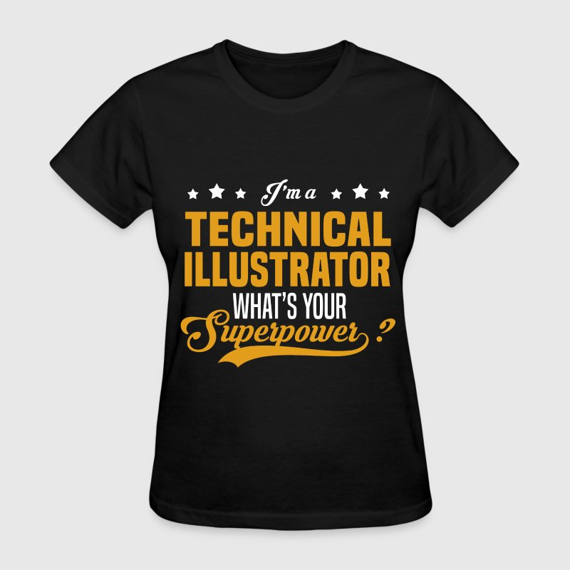 Technical Illustrator - Women's T-Shirt