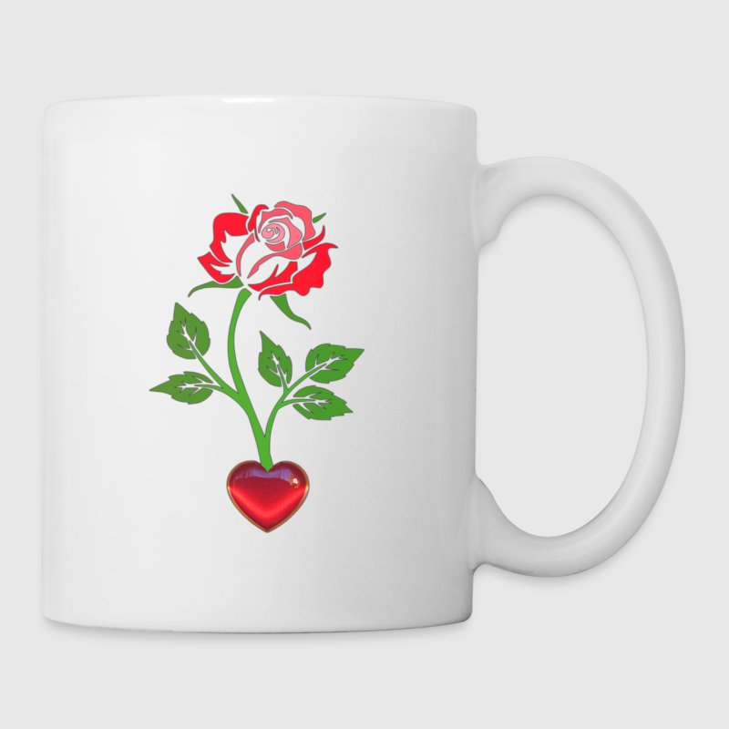 Enchanted Rose with the Heart Coffee/Tea Mug - Coffee/Tea Mug