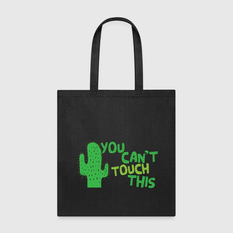 You cant touch this!  (spiked cactus) Bags & backpacks - Tote Bag