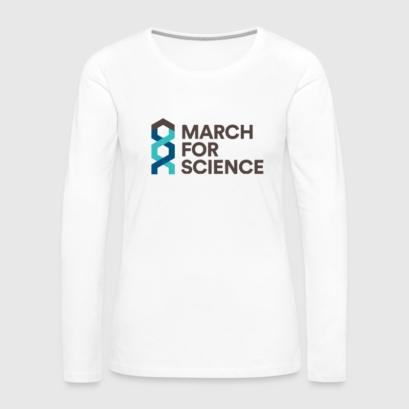 MARCH FOR SCIENCE - Women's Premium Long Sleeve T-Shirt