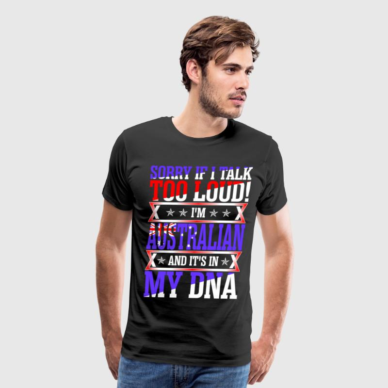 I Am Australian And Its In My DNA T-Shirts - Men's Premium T-Shirt