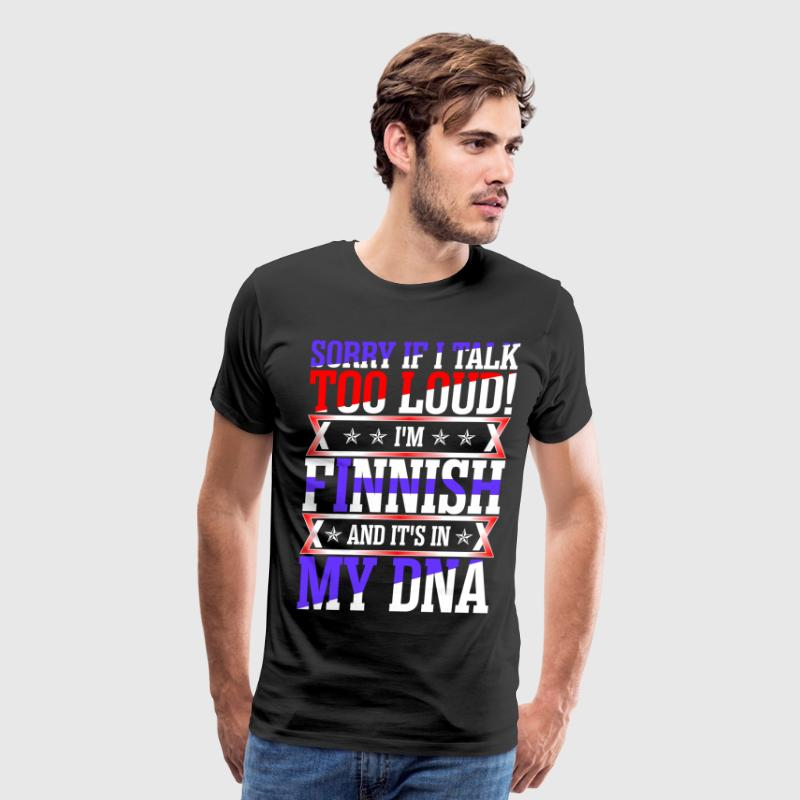I Am Finnish And Its In My DNA T-Shirts - Men's Premium T-Shirt