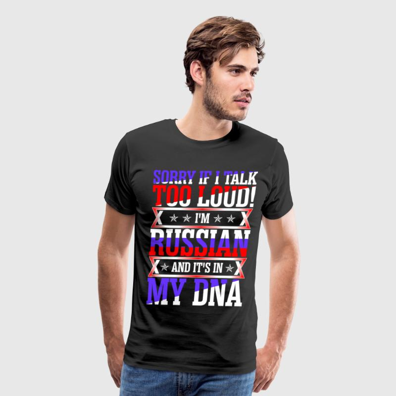 I Am Russian And Its In My DNA T-Shirts - Men's Premium T-Shirt