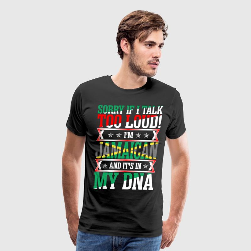 I Am Jamaican And Its In My DNA T-Shirts - Men's Premium T-Shirt