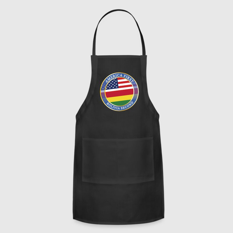 AMERICA FIRST BOLIVIA SECOND Aprons - Adjustable Apron