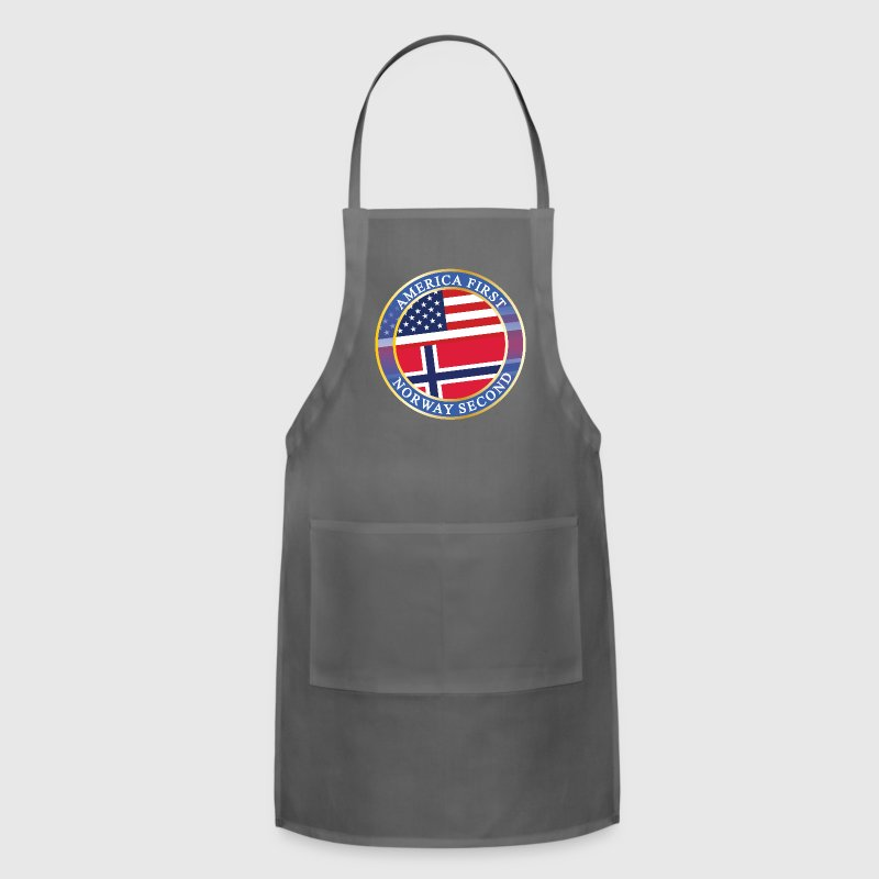 AMERICA FIRST NORWAY SECOND Aprons - Adjustable Apron