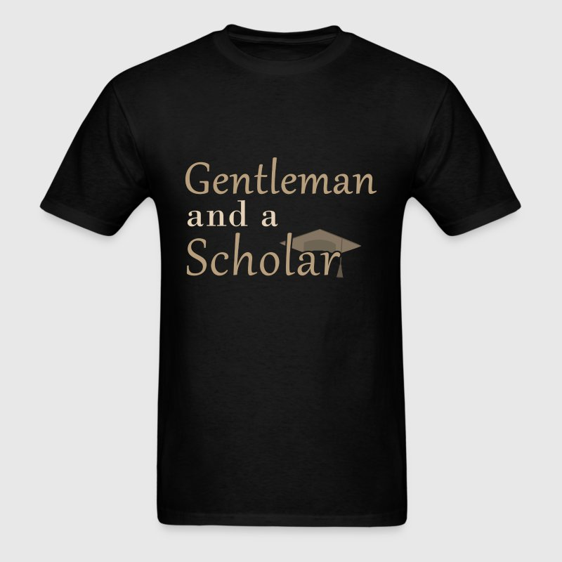 Scholar - Gentleman and a Scholar - Men's T-Shirt