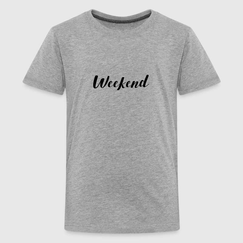 THE WEEKEND Kids' Shirts - Kids' Premium T-Shirt