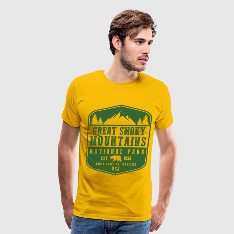 Great Smoky Mountains T-Shirts - Men's Premium T-Shirt
