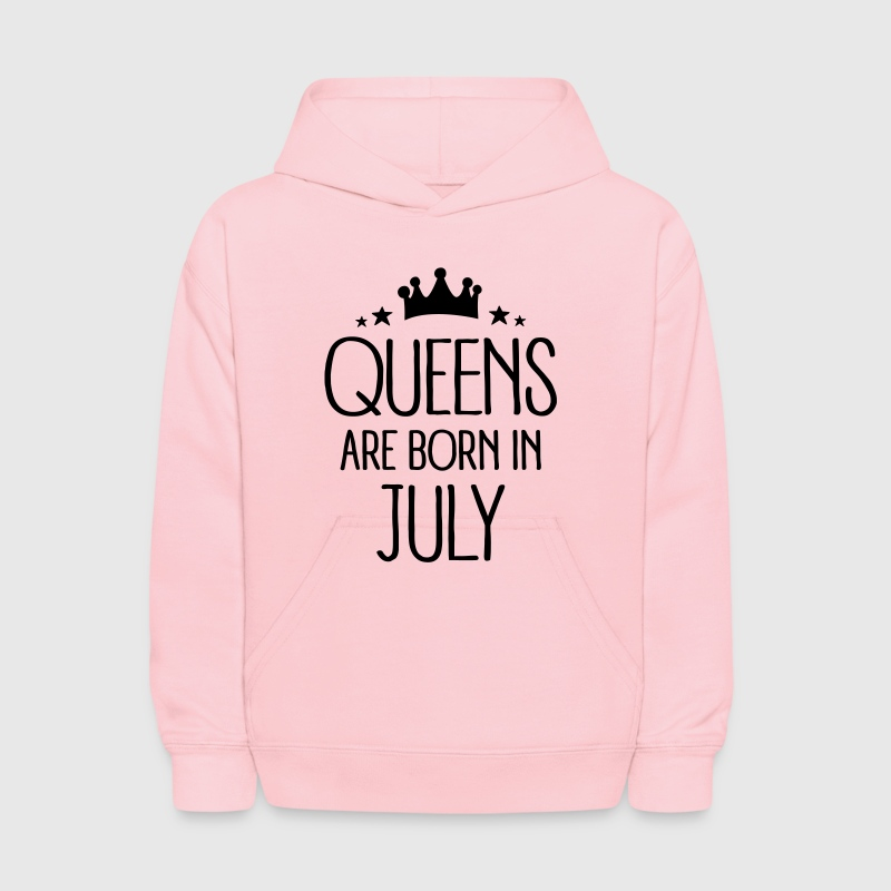 Queens Are Born In July Sweatshirts - Kids' Hoodie