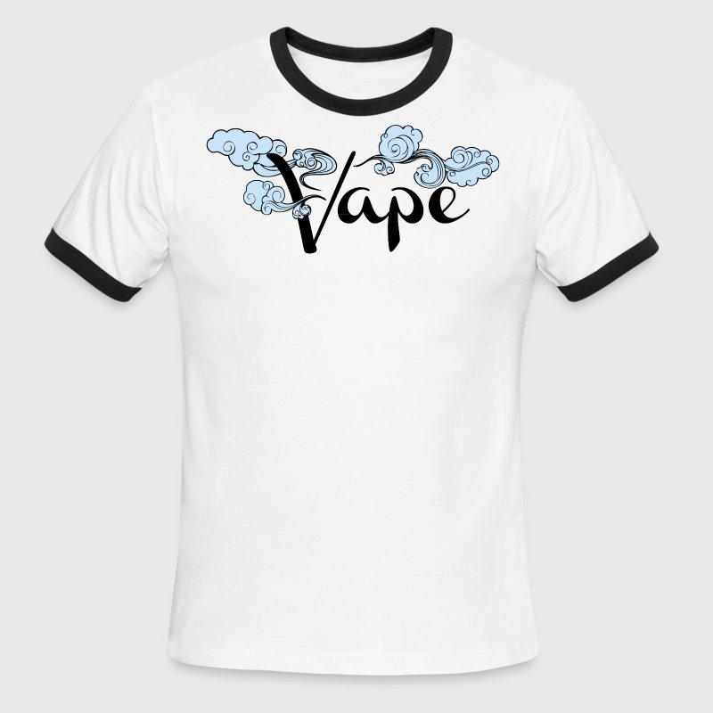 Best Selling Vape Design T-Shirts - Men's Ringer T-Shirt