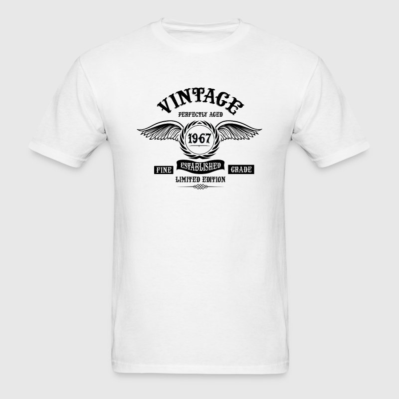 Vintage Perfectly Aged 1967 T-Shirts - Men's T-Shirt