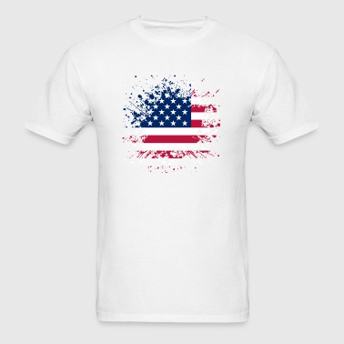 Vintage US Flag Sportswear - Men's T-Shirt